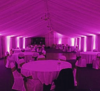 DCViBEZ Tent lighting. #dcvibez #djjatin #leduplighting #dcvmehndi #dcvibezdjs #mcleanvawedding #perfectweather